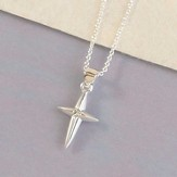 First Communion, Star Cross Necklace