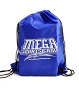 Mega Sports Camp Backpack, blue