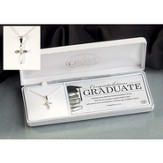 Congrats Graduate, Petal Cross Necklace