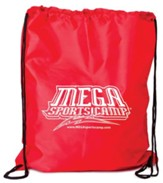 Mega Sports Camp Backpack, red