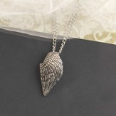 Angel Wing Necklace, Large