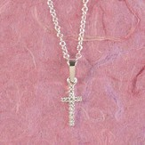 First Communion Blessings, Cross Necklace, Small
