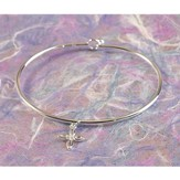First Communion, Infinity Cross Bangle Bracelet