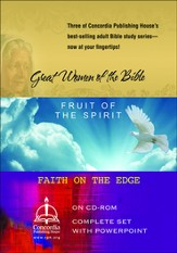 Great Women of the Bible, Faith on the Edge, Fruit of the Spirit Collection on CDROM