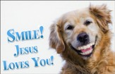 Smile Jesus Loves You (1 John 4:9, NIV) Postcards, 25