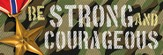 Be Strong and Courageous (Joshua 1:9, NIV) Bookmarks, 25