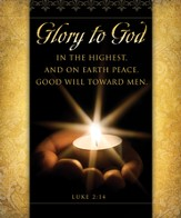Glory to God (Luke 2:14) Large Bulletins, 100