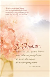 In Heaven (1 Thessalonians 4:17) Bulletins, 100