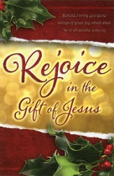 Rejoice (Luke 2:10) Bulletins, 100