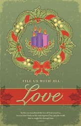 Advent Love, Bulletins, 100