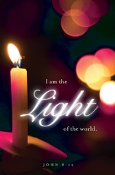 Light Christmas Candlelighting Bulletin 2012, Regular (Package of 50)