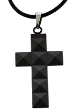 Stud Cross Pendant