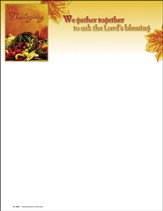 We Gather Together To Ask The Lords Blessing, Letterhead, 100