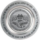 As For Me And My House, Pewter Tray