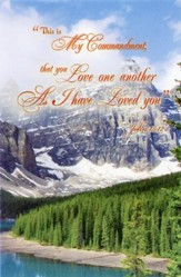 Love One Another As I Have Loved You (John 15:12, NKJV) Bulletins, 100