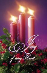 Joy of Every Heart Advent Bulletins, 100