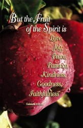 The Fruit Of The Spirit (Galatians 5:22-23) Bulletins, 100