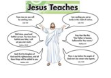 Jesus Teaches, Bulletin Board