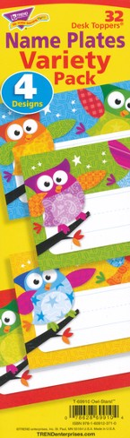 Owl-Stars! Desk Toppers Value Pack