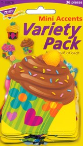 Bake Shop Cupcake Mini Variety Pack Classic Accent