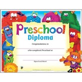 PreSchool Diploma Furry Friends PK-K Certificates & Diplomas