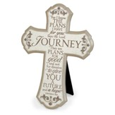 Journey Scroll Wall Cross, Small