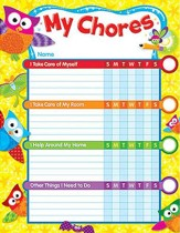 Owl-Stars! Chore Chart Incentive Pads
