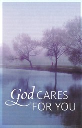 God Cares for You, Pack of 25 Tracts