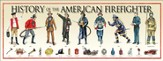 History of the American Fire Fighter Poster