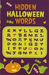 Hidden Halloween Words, Pack of 25