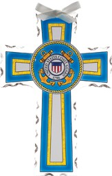 US Coast Guard Cross Suncatcher
