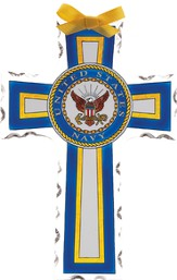 US Navy Cross Suncatcher