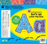 Surf's Up Letter Pop-Outs