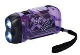 Woman of God Hand Pump Flashlight