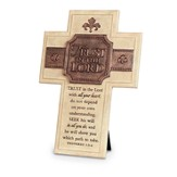 Trust In the Lord Wall Cross, Small