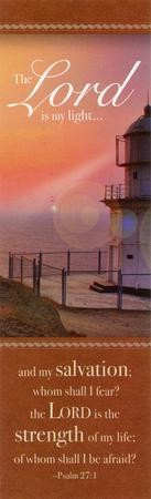 Lighthouse (Psalm 27:1) Bookmarks, 25