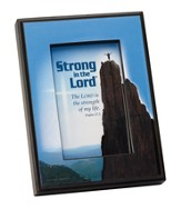Strong in the Lord Framed Print