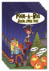 Peak-A-Boo Jesus Loves You (KJV), Pack of 25 Tracts