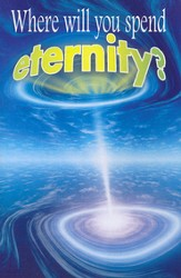 Where Will You Spend Eternity? (KJV) 25 Tracts