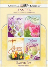 Easter Joy, Box of 12 Assorted Easter Cards