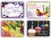Celebrating You, Box of 12 Assorted Birthday Cards