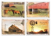 Country Blessings, Box of 12 Assorted Birthday Cards