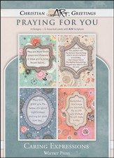 Caring Expressions, Box of 12 Assorted Thinking of You Cards