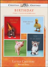Little Critters, Box of 12 Assorted Birthday Cards