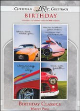Birthday Classics, Box of 12 Assorted Birthday Cards