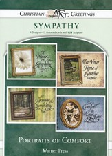 Portraits Of Comfort, Box of 12 Assorted Sympathy Cards