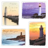 Everlasting Light, Box of 12 Assorted Sympathy Cards