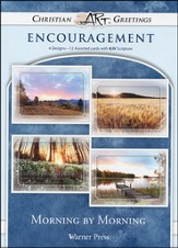Morning By Morning, Box of 12 Assorted Encouragement Cards