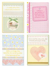 Bundles of Blessings, Box of 12 Assorted Baby Congratulations Cards