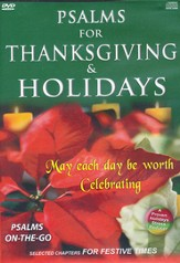 Psalms for Thanksgiving DVD/CD